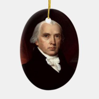 Ornamento De Cerâmica James Madison