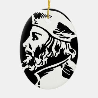 Ornamento De Cerâmica Jan Hus