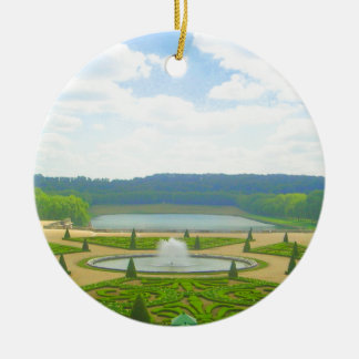 Ornamento De Cerâmica Jardim de Versalhes