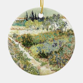 Ornamento De Cerâmica Jardim de Vincent van Gogh em Arles