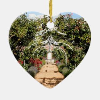 Ornamento De Cerâmica Jardim inglês velho