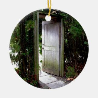 Ornamento De Cerâmica Jardim secreto 1