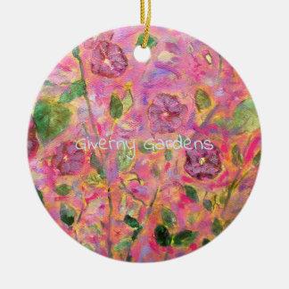 Ornamento De Cerâmica Jardins de Giverny