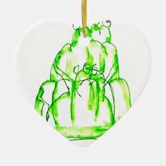 Ornamento De Cerâmica jello do quivi dos fernandes tony