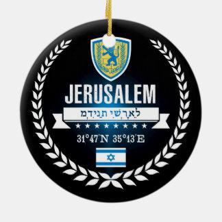 Ornamento De Cerâmica Jerusalem