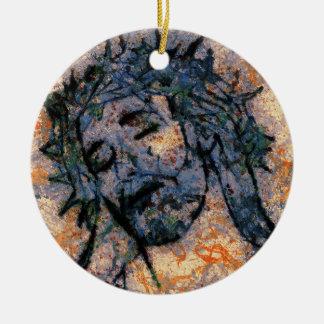 Ornamento De Cerâmica Jesus