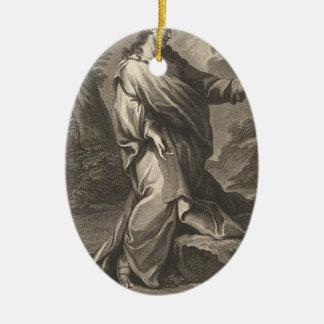 Ornamento De Cerâmica Jesus Cristo