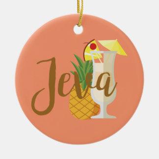 Ornamento De Cerâmica Jeva