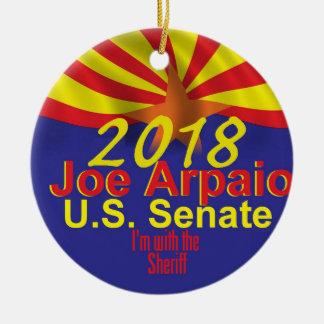 Ornamento De Cerâmica Joe ARPAIO AZ 2018