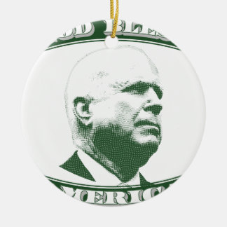 Ornamento De Cerâmica John McCain
