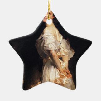 Ornamento De Cerâmica John Singer Sargent - Nancy Astor - belas artes