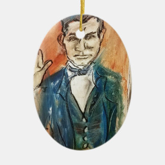 Ornamento De Cerâmica Juramento de John Brown