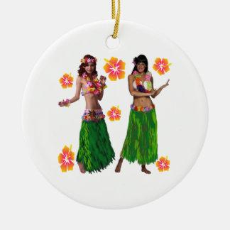 Ornamento De Cerâmica kaiko do hula