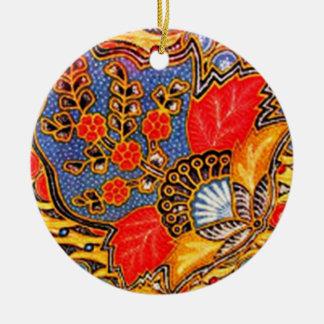 Ornamento De Cerâmica kalapito 03 do batik