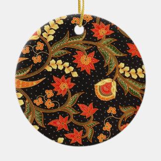 Ornamento De Cerâmica kalsabit 03 do batik