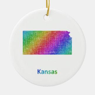 Ornamento De Cerâmica Kansas