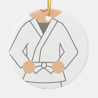 Ornamento De Cerâmica Karate Kid