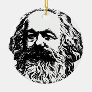 Ornamento De Cerâmica Karl Marx - comunismo