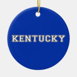 Ornamento De Cerâmica Kentucky