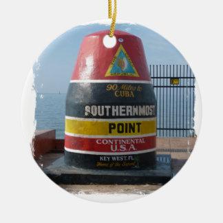 Ornamento De Cerâmica Key West