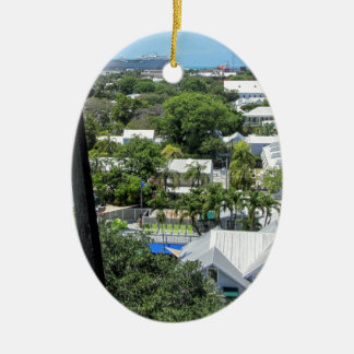 Ornamento De Cerâmica Key West 2016 (203)