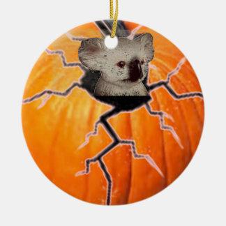 Ornamento De Cerâmica Koala da abóbora