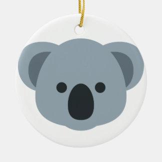 Ornamento De Cerâmica Koala emoji