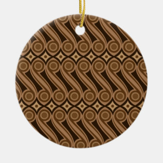 Ornamento De Cerâmica kulasa 03 do batik