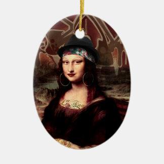 Ornamento De Cerâmica La Chola Mona Lisa