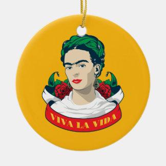 Ornamento De Cerâmica La Vida de Frida Kahlo | Viva