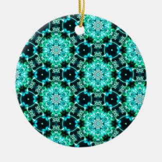 Ornamento De Cerâmica Laço verde de Tilly