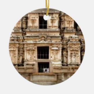 Ornamento De Cerâmica lado detalhado da construção