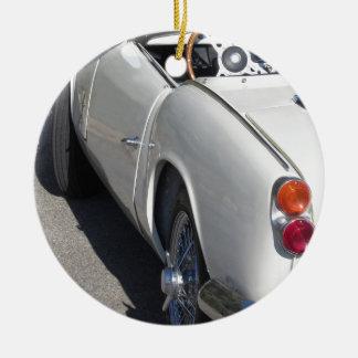 Ornamento De Cerâmica Lado esquerdo de um carro clássico britânico velho