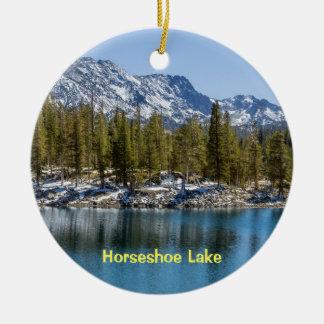 Ornamento De Cerâmica Lago em ferradura, lagos gigantescos, CA