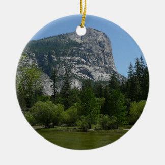 Ornamento De Cerâmica Lago II mirror no parque nacional de Yosemite