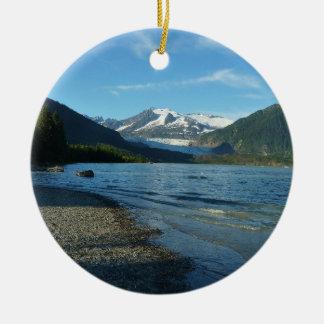 Ornamento De Cerâmica Lago Mendenhall em Juneau Alaska