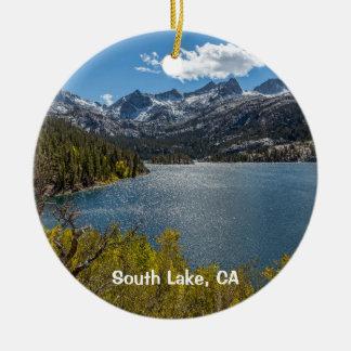 Ornamento De Cerâmica Lago sul, Califórnia