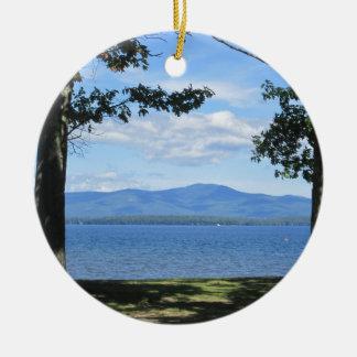 Ornamento De Cerâmica Lago Winnipesaukee