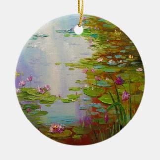 Ornamento De Cerâmica Lagoa
