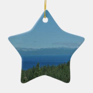 Ornamento De Cerâmica Lake Tahoe