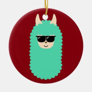 Ornamento De Cerâmica Lama legal de Emoji
