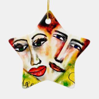 Ornamento De Cerâmica L'Amore