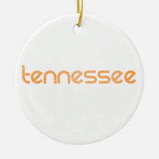 Ornamento De Cerâmica Laranja de Tennessee