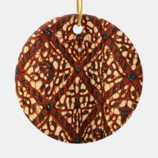 Ornamento De Cerâmica laras 03 do batik