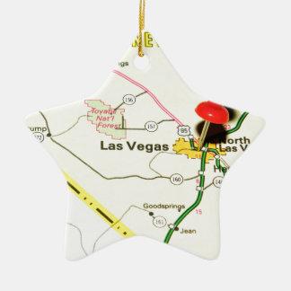 Ornamento De Cerâmica Las Vegas, Nevada
