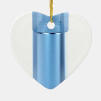 Ornamento De Cerâmica Lata de pulverizador azul do aerossol