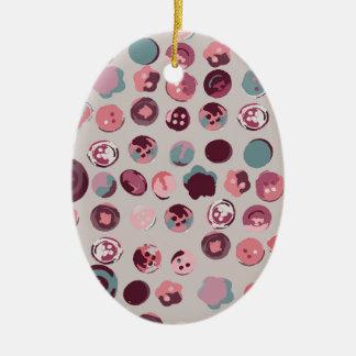 Ornamento De Cerâmica Lata do botão