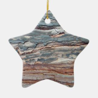 Ornamento De Cerâmica Latido carbonizado do pinho