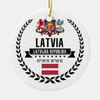 Ornamento De Cerâmica Latvia