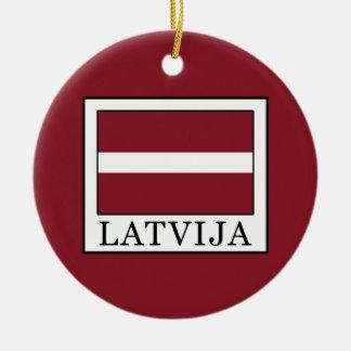 Ornamento De Cerâmica Latvija